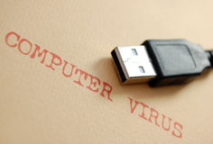 Computer virus Royalty Free Stock Photos