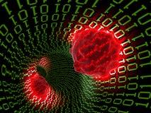 Computer virus 2. Computer virus concept. 3D image Royalty Free Illustration