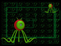 A computer virus Stock Images