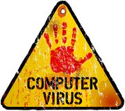 Computer virus Stock Photo