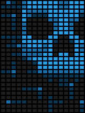 Computer virus background Stock Photography