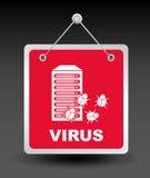Computer virus Stock Photography