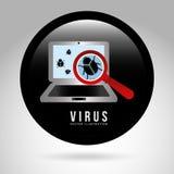 Computer virus Royalty Free Stock Image