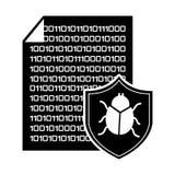 Computer virus Royalty Free Stock Photo