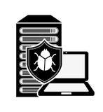 Computer virus Royalty Free Stock Photos