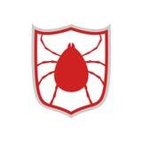Computer virus protect symbol Royalty Free Stock Photo