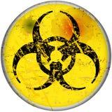 Computer virus. Warning sign, vector, eps 10 Stock Photo