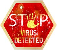 Computer virus Royalty Free Stock Photography