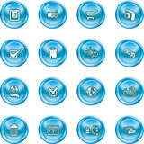 Computer and Web Icons Stock Images