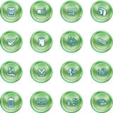 Computer and Web Icons Stock Photography