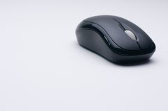 Computer wireless mouse stock photo