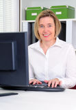 Computer Work Stock Photography