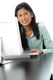 Computer Work Royalty Free Stock Image