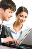 Computer work Royalty Free Stock Images
