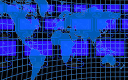 Computer world Royalty Free Stock Image