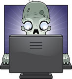 Computer Zombie Royalty Free Stock Photo