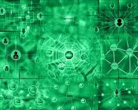 Computerabstraktion Stockbild