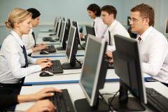 Computerarbeit Lizenzfreie Stockbilder