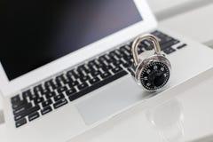 Computerbeveiliging Stock Afbeelding