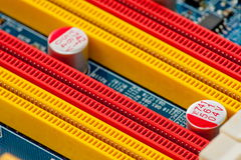 Computercircuitboards Royalty-vrije Stock Afbeeldingen