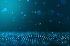 Computererzeugter Hintergrund des binären Konzeptes der Technologie der Numerischen Information Welt lizenzfreie stockbilder