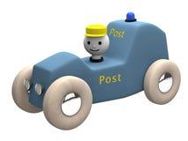 computererzeugtes Spielzeugauto des Postens 3D lizenzfreie abbildung