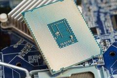 Computerhardware, motherboard Royalty-vrije Stock Fotografie