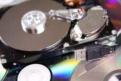 Computerhardware und Einheiten Stockfotografie