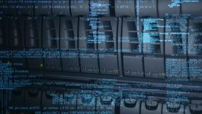 Computerkodierungserzeugung stock abbildung
