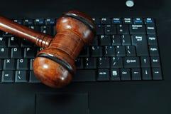 Computerkriminalitäten lizenzfreies stockfoto