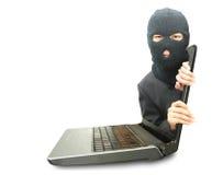 Computerkriminalitätskonzept lizenzfreies stockbild
