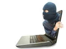 Computerkriminalitätskonzept Stockfoto