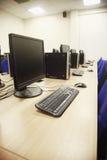 Computerlaboratorium Stock Afbeeldingen