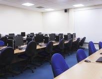 Computerlaboratorium Stock Afbeelding