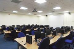 Computerlaboratorium Stock Foto