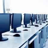 Computerlaboratorium Royalty-vrije Stock Afbeelding
