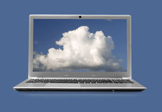 Computerlaptop stockfotos
