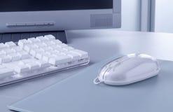 Computermaus und -tastatur lizenzfreies stockbild