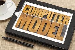 Computermodel Stock Fotografie