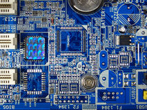Computermotherboard Lizenzfreie Stockfotografie