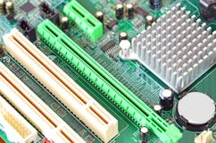 Computermotherboard, DOF Lizenzfreie Stockbilder