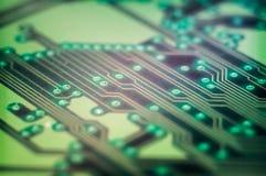 Computermotherboard-PWB Stockfotos