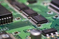 Computermotherboard-PWB Stockbild