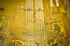 Computermotherboardkreisläuf Lizenzfreie Stockfotografie