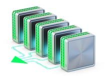 Computernetwerken. Stock Fotografie