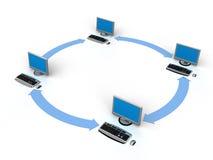 Computernetz Lizenzfreie Stockfotos
