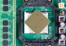 Computerreparaturhintergrund Lizenzfreies Stockfoto