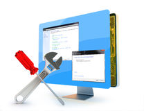 Computerreparaturservice Lizenzfreies Stockfoto