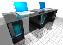 Computers Royalty-vrije Stock Afbeeldingen