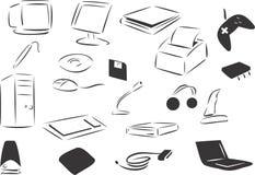Computers vector illustratie